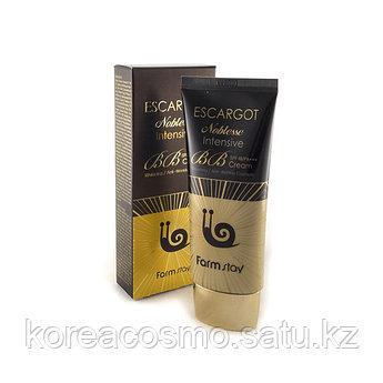 ББ-крем с экстрактом слизи королевской улитки FARMSTAY Escargot Noblesse Intensive BB Cream SPF48 PA++