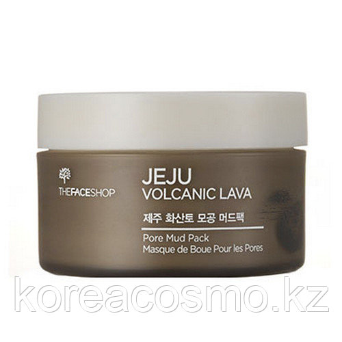 Регулярная маска The Face Shop Jeju Volcanic Lava Pore Mud Pack