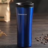 Термокружка Starbucks синяя, 500 мл, фото 1