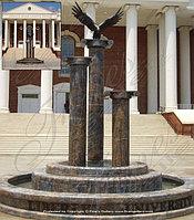 """Городской фонтан """"Орел на колонне"""""""