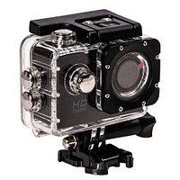 Экшен-камера SPORTS FullHD, Wi-Fi, LCD дисплей с набором аксессуаров