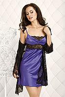 Подарок для женщины - Кружевной комплект. Халатик + сорочка