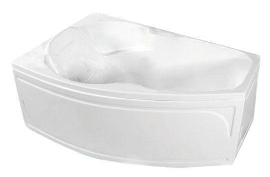 Акриловая ванна ассиметричная  ТРИТОН  Бриз-правый ЭКСТРА (1500х950) в комплекте с каркасом