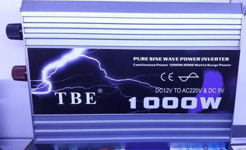 Инвертор TBE 1000W (чистый синус)