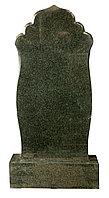 Памятник из зеленого гранита, рельефный