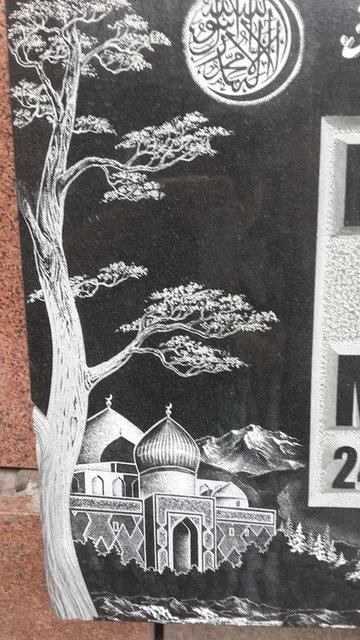 Примеры оформления памятников 3