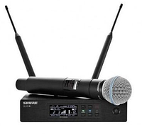 Микрофон радио Shure QLXD24E/B58-K51