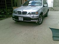 Накладки на фары (реснички) BMW X5 (E53)