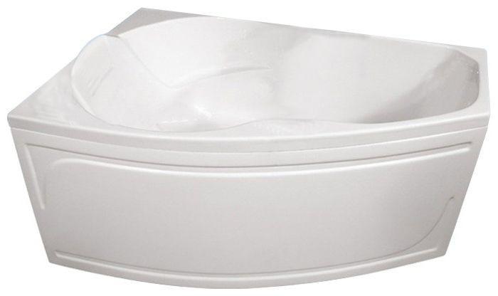 Акриловая ванна ассиметричная  ТРИТОН  Лайма-левая ЭКСТРА (1600х950) в комплекте с каркасом