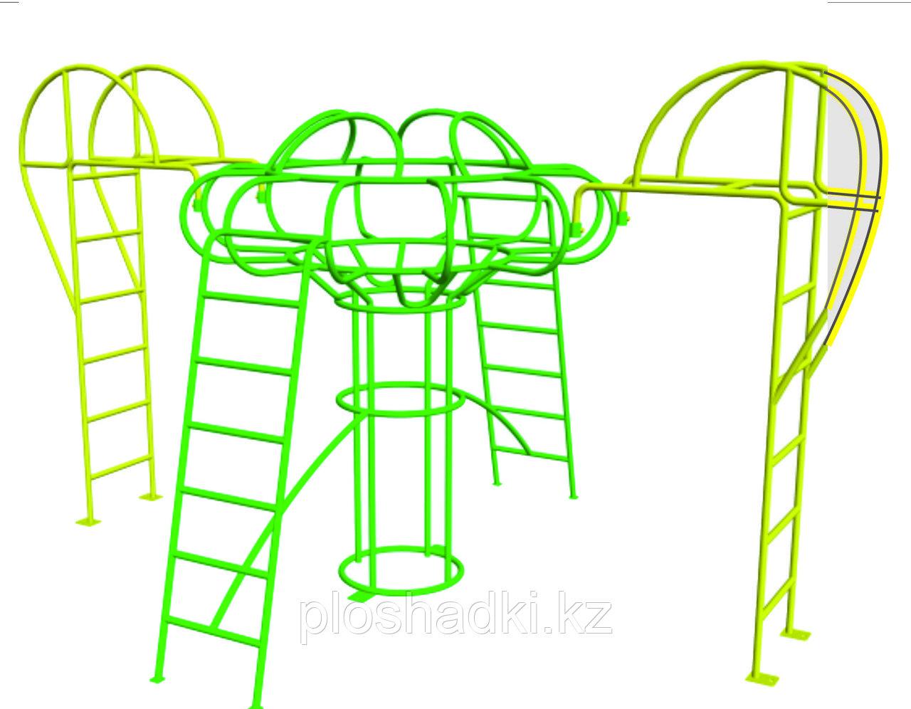 Игровой комплекс детский, рукоходы, лестница гимнастическая