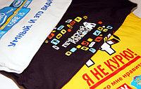 Печать на футболках и нанесение шелкографии в Алматы