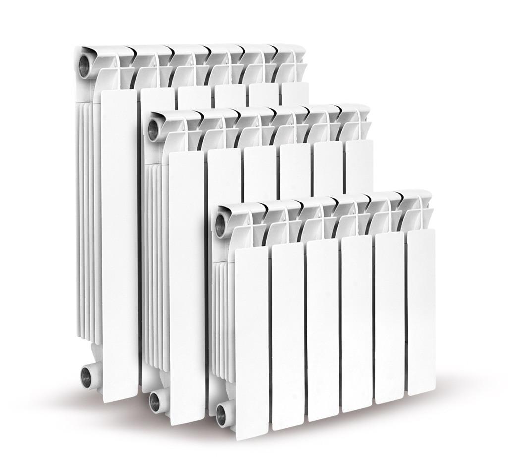 Алюминиевый радиатор TIPIDO-200 (высота секции 240 мм.)