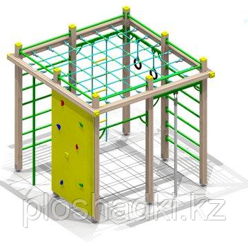 Игровой комплекс детский, сеткалозалка, турник, скалодром,гимнастические кольца