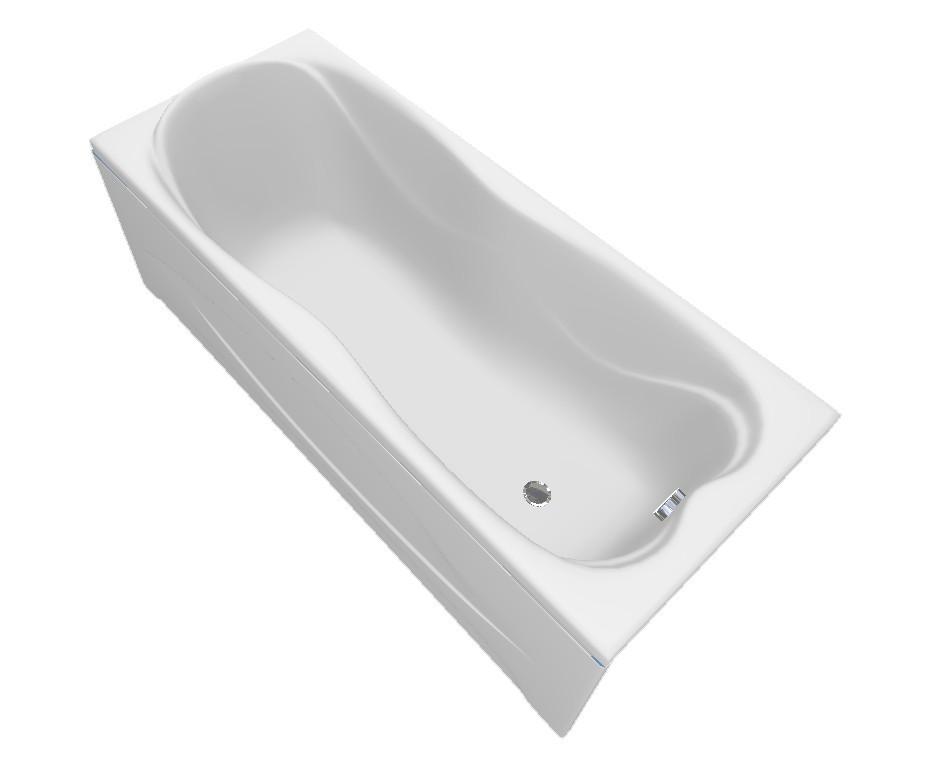 Акриловая ванна ТРИТОН Эмма в комплекте с каркасом