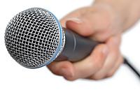 Микрофоны шнуровые, настольные, студийные..
