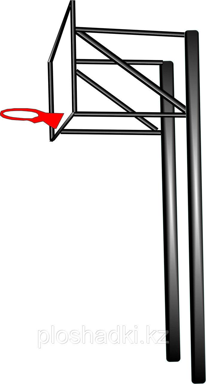 Баскетбольный щит, металл