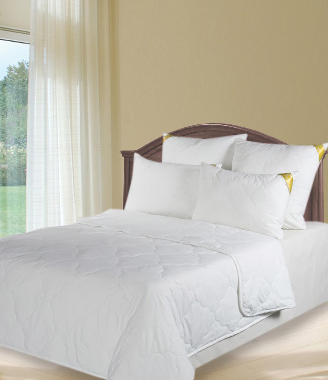 Одеяло холлофайбер белое 1,5сп