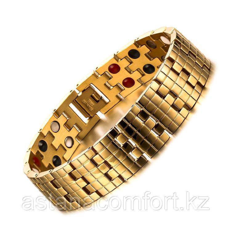 """Подарок для мужчин - магнитный браслет """"Квадро 2"""" - фото 1"""