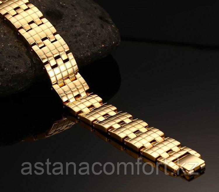 """Подарок для мужчин - магнитный браслет """"Квадро 2"""" - фото 2"""