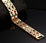"""Подарок для мужчин - магнитный браслет """"Квадро 2"""", фото 3"""