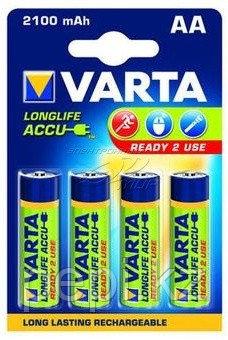 Аккумулятор Varta R2U Mignon 2100mAh 1.2V-HR06/AA (4шт)