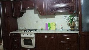 Кухня Мадлен, прямая, орех 1