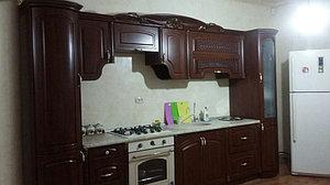 Кухня Мадлен, прямая, орех 2