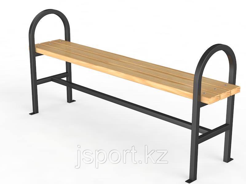 """Уличная скамейка без спинки """"Консоль"""""""