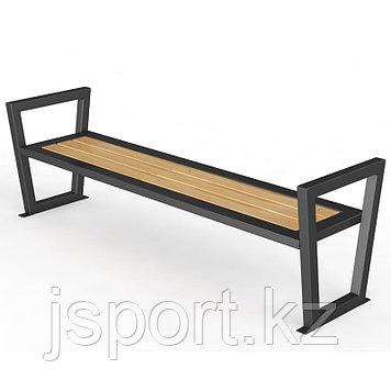 """Уличная скамейка без спинки. """"Трапеция"""" 1,5м"""