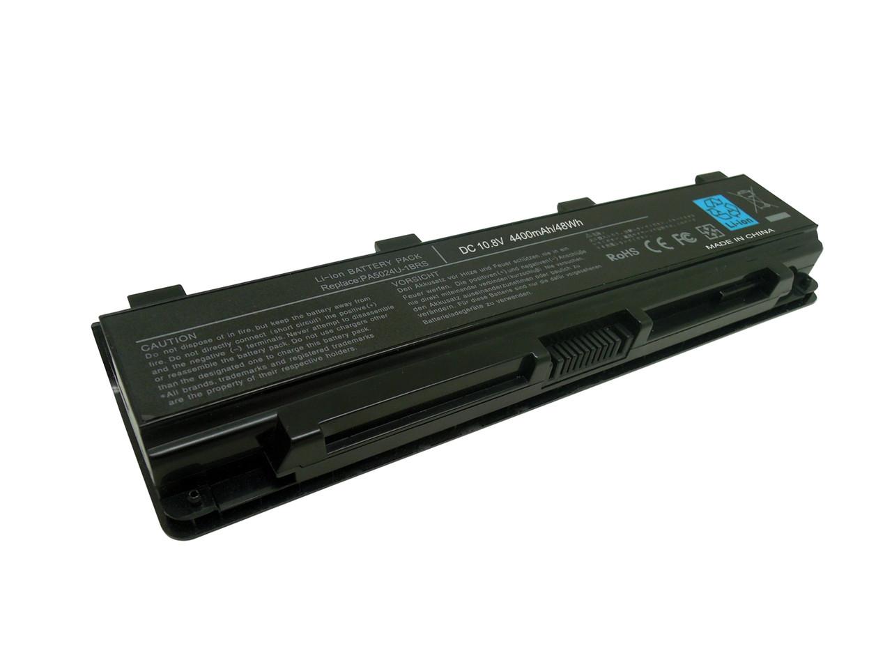 Аккумулятор для ноутбука TOSHIBA SATELLITE L830