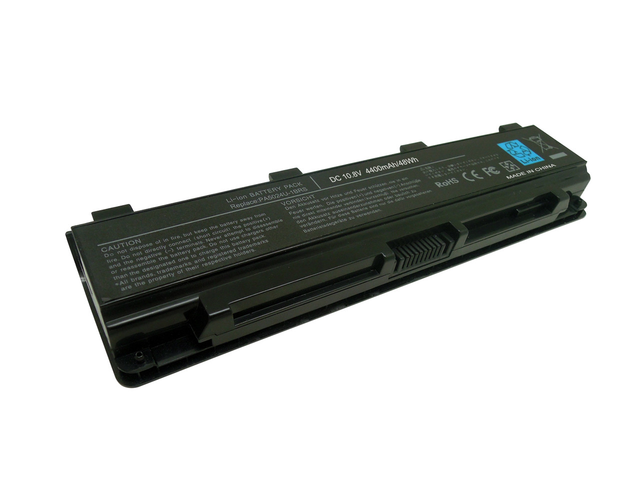 Аккумулятор для ноутбука TOSHIBA SATELLITE L850-162