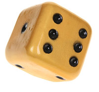 Копилка Кубик золото