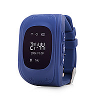 GPS часы Q50, Wonlex, OLED, синие