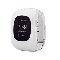 GPS часы Q50, Wonlex, OLED, белые, фото 1