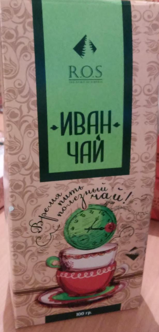 Иван чай ферментированный, с ложечкой, 100гр