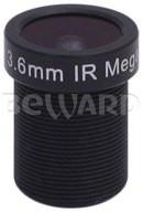 Мегапиксельный объектив с ИК фильтром BEWARD BL03618BIR-WF
