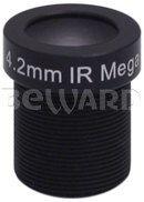 Мегапиксельный объектив с ИК фильтром BEWARD BL04218BIR-WF