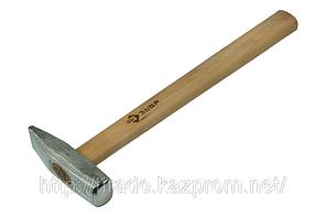 Молоток ЗУБР кованый оцинкованный с деревянной рукояткой, 0,4кг