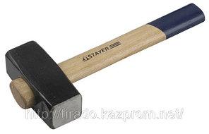 Кувалда STAYER кованая с обратной деревянной рукояткой, 8,0кг