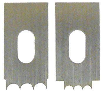 Ножи для стружков Veritas Beading Tool, Reeding Cutters, 2шт