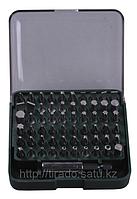 Набор KRAFTOOL Биты с адаптером в пластиковом боксе, Cr-V, 61 предмет