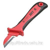Нож для снятия изоляции с частично изолирован. лезвием 1000В
