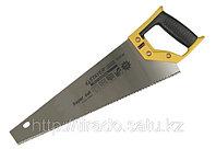 Ножовка STAYER «SUPER CUT» по дереву, 2-комп. пластиковая ручка, 3D-заточка, закаленный