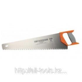 Ножовка «ИЖ» «ПРЕМИУМ» по дереву с двухкомпонентной пластиковой рукояткой, шаг 8мм,