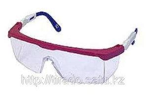 Очки STAYER защитные с регулируемыми по длине дужками, поликарбонатные прозрачные линзы с