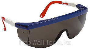 Очки STAYER защитные с регулируемыми по длине и углу наклона дужками, поликарбонатные