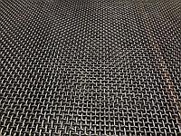 Сетка тканая с частичным рифлением