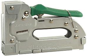 Пистолет STAYER скобозабивной металлический пластинчатый, регулируемый, тип 140+300 — 6-18мм,