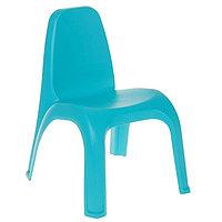 Стул детский  380х425х525 мм (голубой)