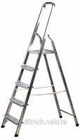 Лестница-стремянка алюминиевая, 5 ступеней, 103 см